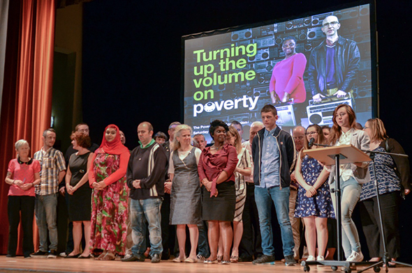 Poverty Truth Commission presentation.