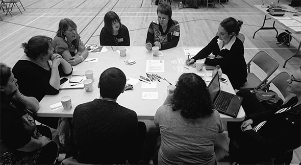 24 people from the local area joined Scottish Government staff at the Inverness Leisure Centre for our second Fairer Scotland Planning Event.
