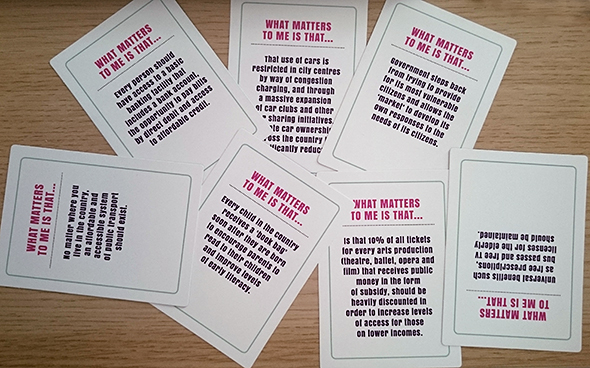 Fairer Scotland card game