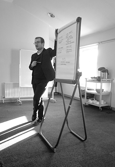 Danny Boyle maps the ideas from the BEMIS Fairer Scotland conversation in Perth on 24th November.